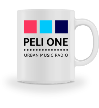 PELI ONE Logo-Tasse