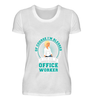 Blessed Office Worker