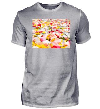 Farbige Rosen -Hochzeit-Design