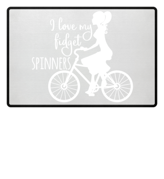 I love my fidget spinners - Girly 2