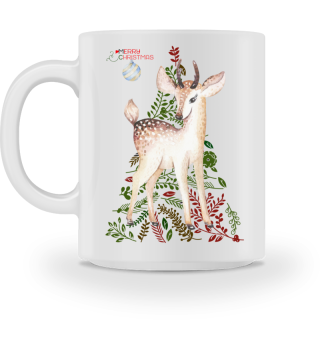 ♥ MERRY CHRISTMAS · DEER #5BT