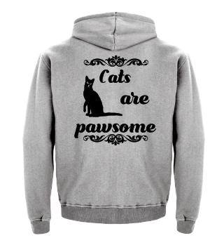 Cats pawsome
