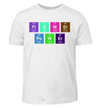 Chemical Elements Flower Power