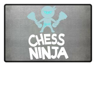 Chess Ninja Player Cool Funny Comic Quote Nerd Gift
