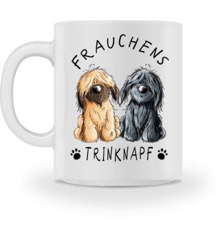 Frauchens Trinknapf Briard Tasse