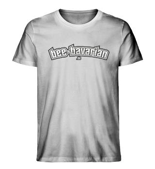 Bee Bavarian Schrift Bio Organic Shirt
