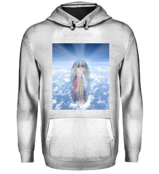 Kollektion Jesus Christus Segen Blessing Heaven Clouds Himmel