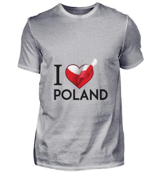 D001-0084B I Love Poland / Polen
