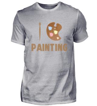 Malen Liebe | Maler Geschenk Kunst Farbe