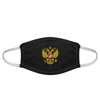 Russischer Adler Wappen Gesichtsmaske