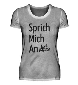 Sprich Mich An (W) - schwarz