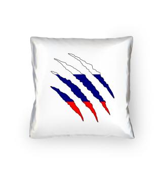 Russland Flagge Kissen Geschenk Idee