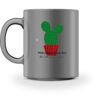 Mug Happy Sunny Day Cactus