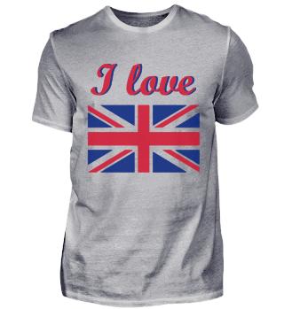 I love England