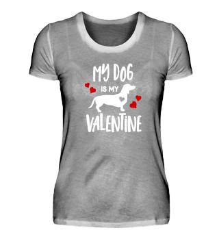 Valentines Day Dog Love Gift Heart Shirt