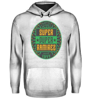 Herren Hoodie Sweatshirt Super Duper Ramirez