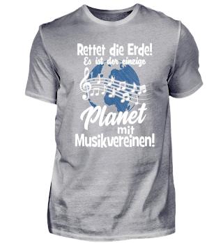 Blasmusik · rettet die Erde!