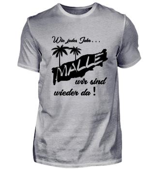 Mallorca ohne Team-Shirt? Undenkbar!