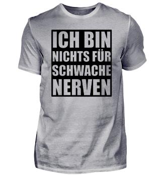☛ ICH BIN NICHTS FÜR SCHWACHE NERVeN #3.2