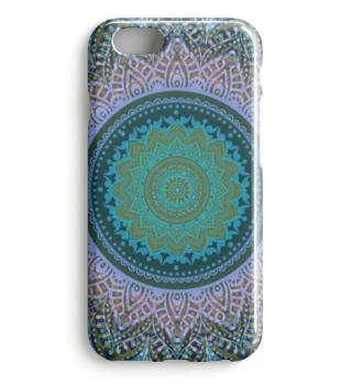 ★ Folklore Lotus Mandala Blue Violet I