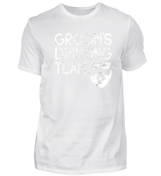 BACHELOR PARTY GROOM'S DRINKING TEAM JGA