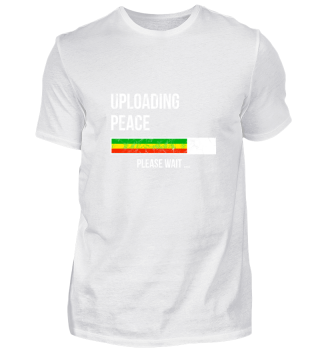 Uploading Peace Please Wait - Frieden