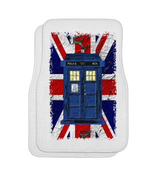 United Kingdom Flag Police Box 2