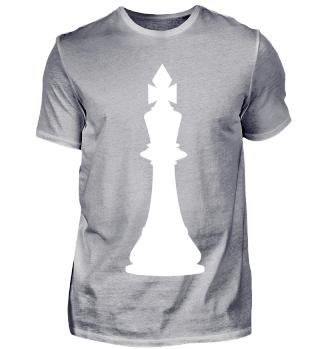 Schachfigur König Weiß