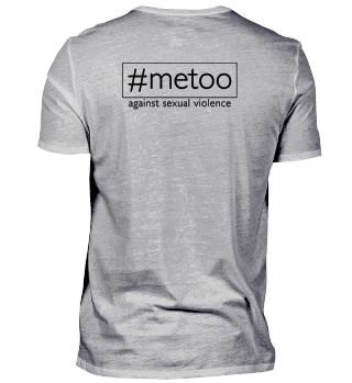 metoo - against sexual violence - black2
