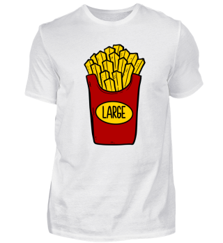 Pommes Large Small Partnerlook Geschenk