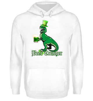 ST PATRICK'S DAY - BEER CRUSHER DINOSAUR