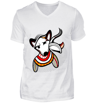 Bullterrier- T-shirts for men