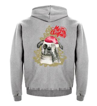 ☛ Christmas · Boho · Dog