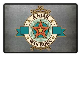 Retro A STAR WAS BORN Banner 2