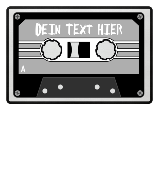 MIXTAPE grau - DEIN TEXT 1