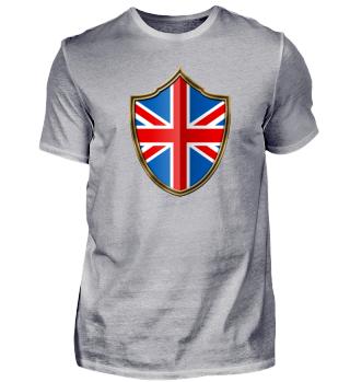 Großbritannien Wappen Flagge 016