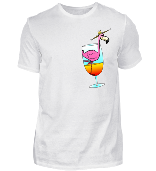 Flamingo Cocktail - cool summer gift