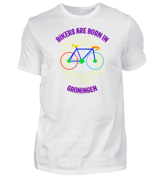 Groningen Fahrrad Shirt Geschenk