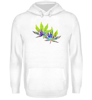 ★ Crazy Colored Marijuana Leaves 2
