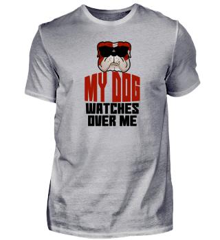 Hund Haustier Krafttier Geschenk