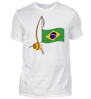 Capoeira Berimbau Brazilian Flag 3