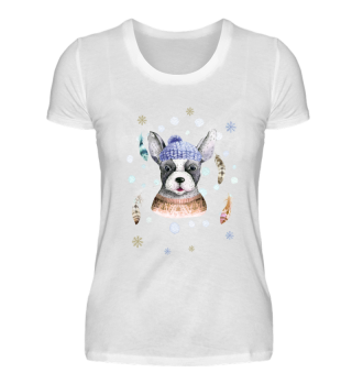 ☛ Merry Christmas · Boho Dog · Hund #7C