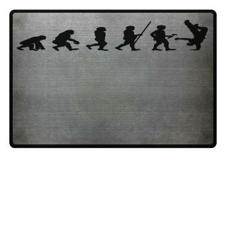 Evolution zum Einhandstand - Tshirt
