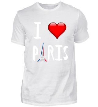 Paris, I love Paris