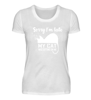 Funny Cat T-Shirt Kitty Kitte Lover Gift