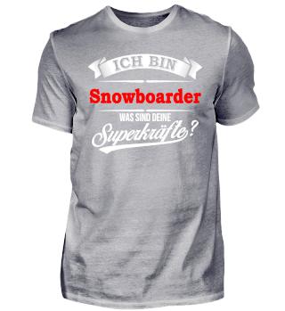 Snowboarder Snowboard Superkräfte