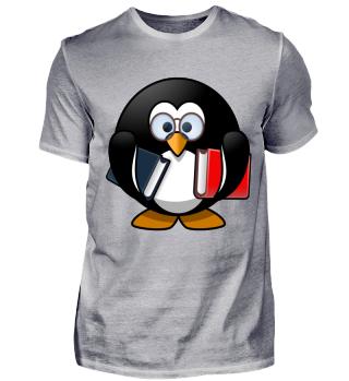 Pinguin Schule lernen