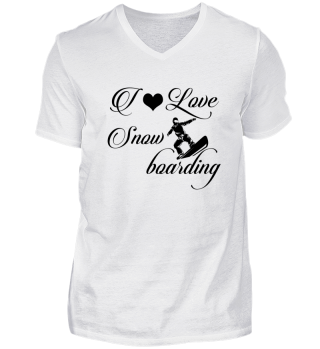 ☛ I LOVE SNOWBOARDING #4S