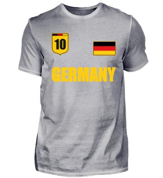 Germany T-Shirt Soccer Jersey Trikot Fan