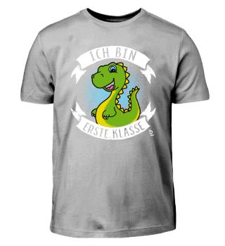 Erste Klasse Dinosaurier Dino Geschenk